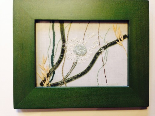 dandelion 2 of 3 framed