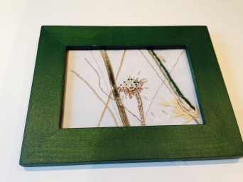 dandelion 3 of 3 framed